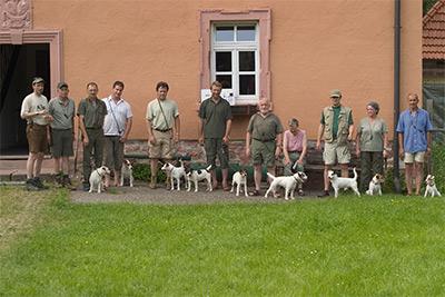 Teilnehmer des Wesenstest in Einsiedel